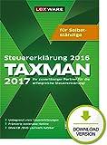 TAXMAN 2017 für Selbstständige Download [Download]
