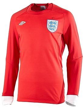 Inglaterra Umbro 11 – 12 años para niños rojo Away Copa del Mundo 66 estilo camiseta