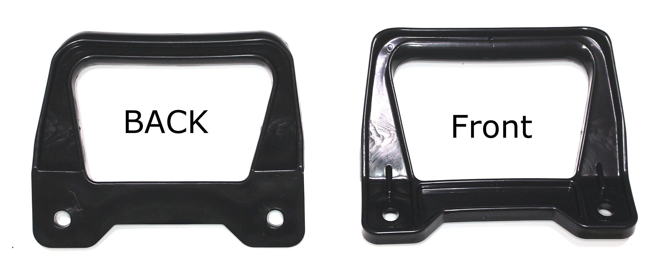 Rear Grab Bar Handle Replacement for Yamaha Waverunner III OEM# FJ0-63771-30-00 Jetski Grip 2 PK