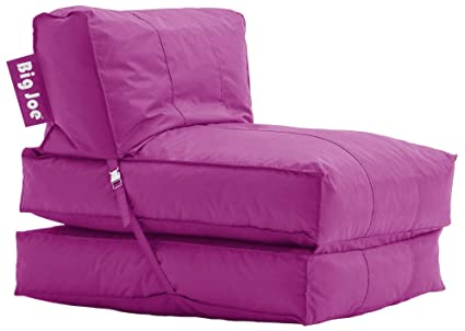 Merveilleux Big Joe Flip Lounger, Pink Passion