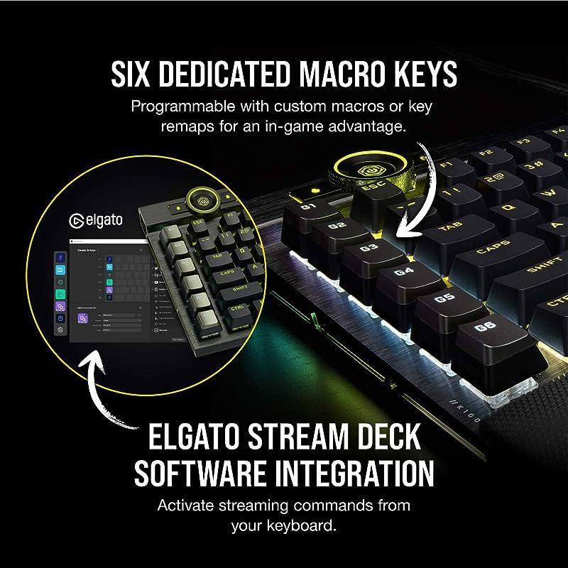 Corsair K100 RGB Mechanical Gaming Keyboard 2