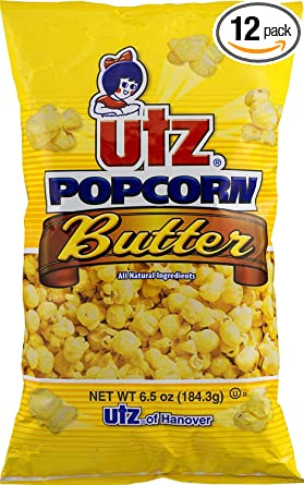Amazon Com Utz Butter Popcorn 6 5 Ounce Pack Of 12