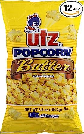 Amazon Com Utz Butter Popcorn 6 5 Ounce Pack Of 12