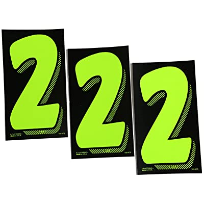 7 1/2 Green Chartreuse Pricing Numbers for Car Dealers 3 Dozen (# 2's): Automotive