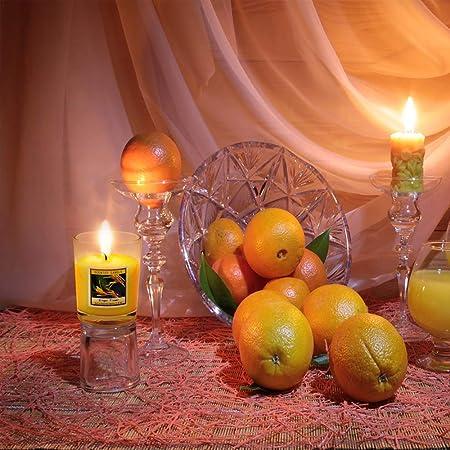 Pack 8 velas perfumadas aroma a Opio incienso en grano pastilla de carb/ón.
