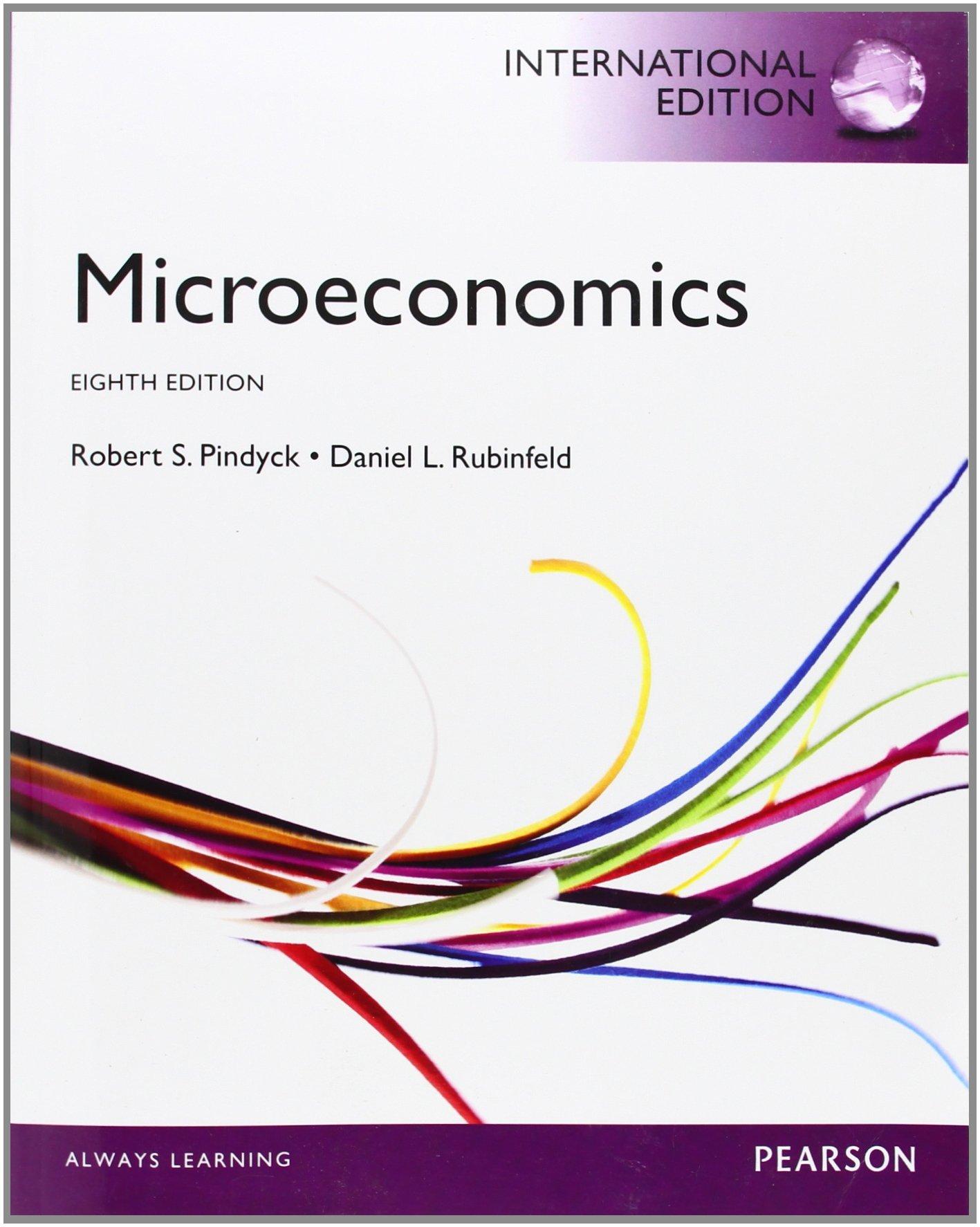 Microeconomics pindyck rubinfeld 7th edition pdf.