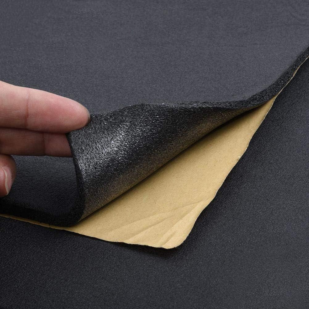 Schalld/ämmung Und Schallschutz F/ür Kfz 50cm 200cm 10mm Suppemie Selbstklebende Anti Dr/öhn D/ämmmatte Auto D/ämmung L/ärmschutz