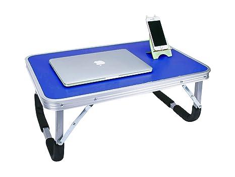 LandTrip Mesa de ordenador portátil para cama, Superjare portátil al aire libre Camping mesa verde