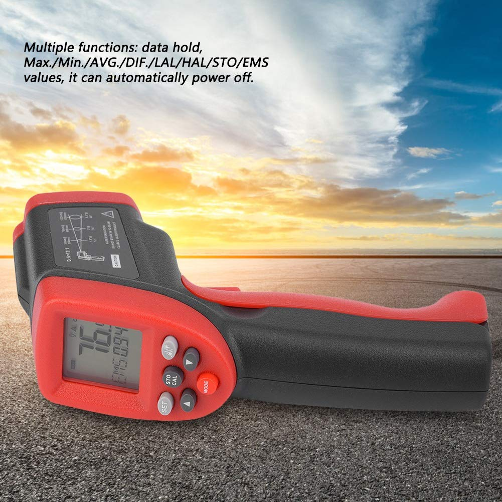Thermomètre Contact Sans Infrarossi Infrarouge Delaman Termometri A hBQrdstCx