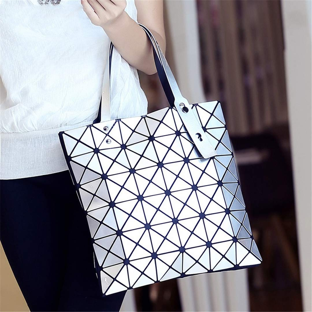Amazon.com: H bags Bao Bags Geometric Diamond Shape Silica ...