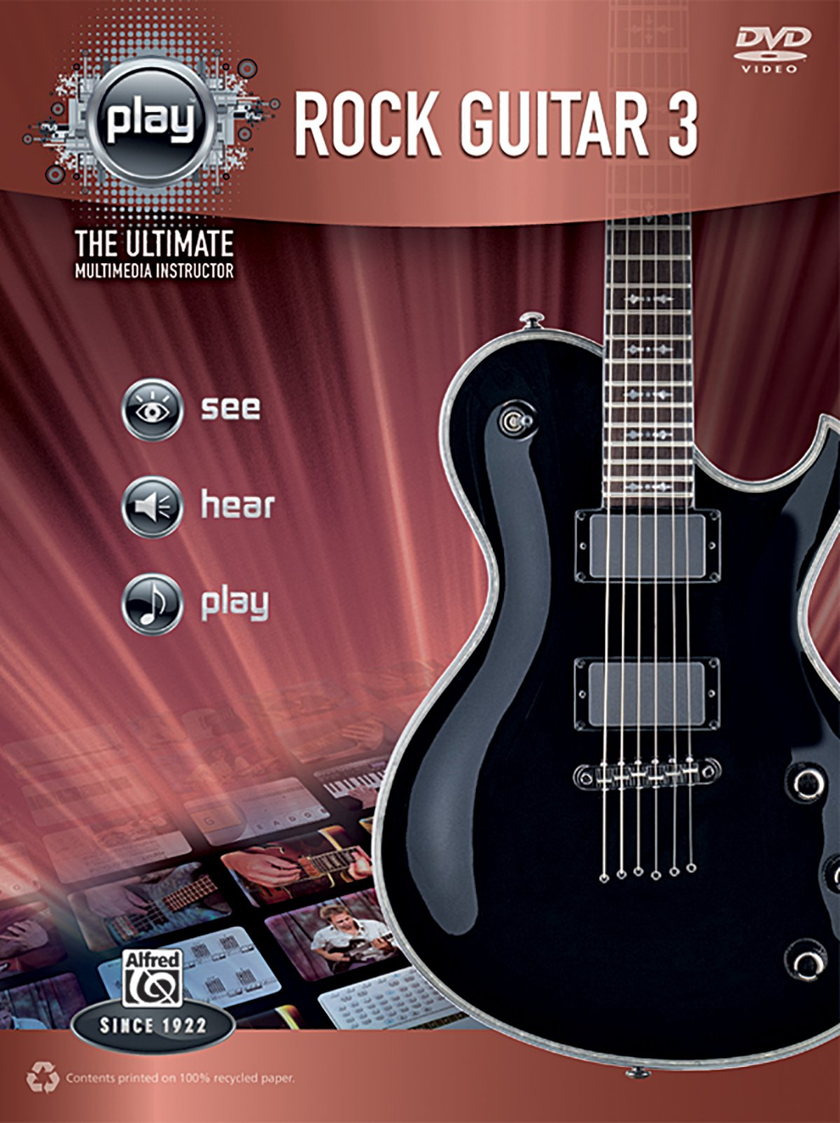 Alfred's PLAY -- Rock Guitar 3: The Ultimate Multimedia Instructor (Book & DVD) ebook
