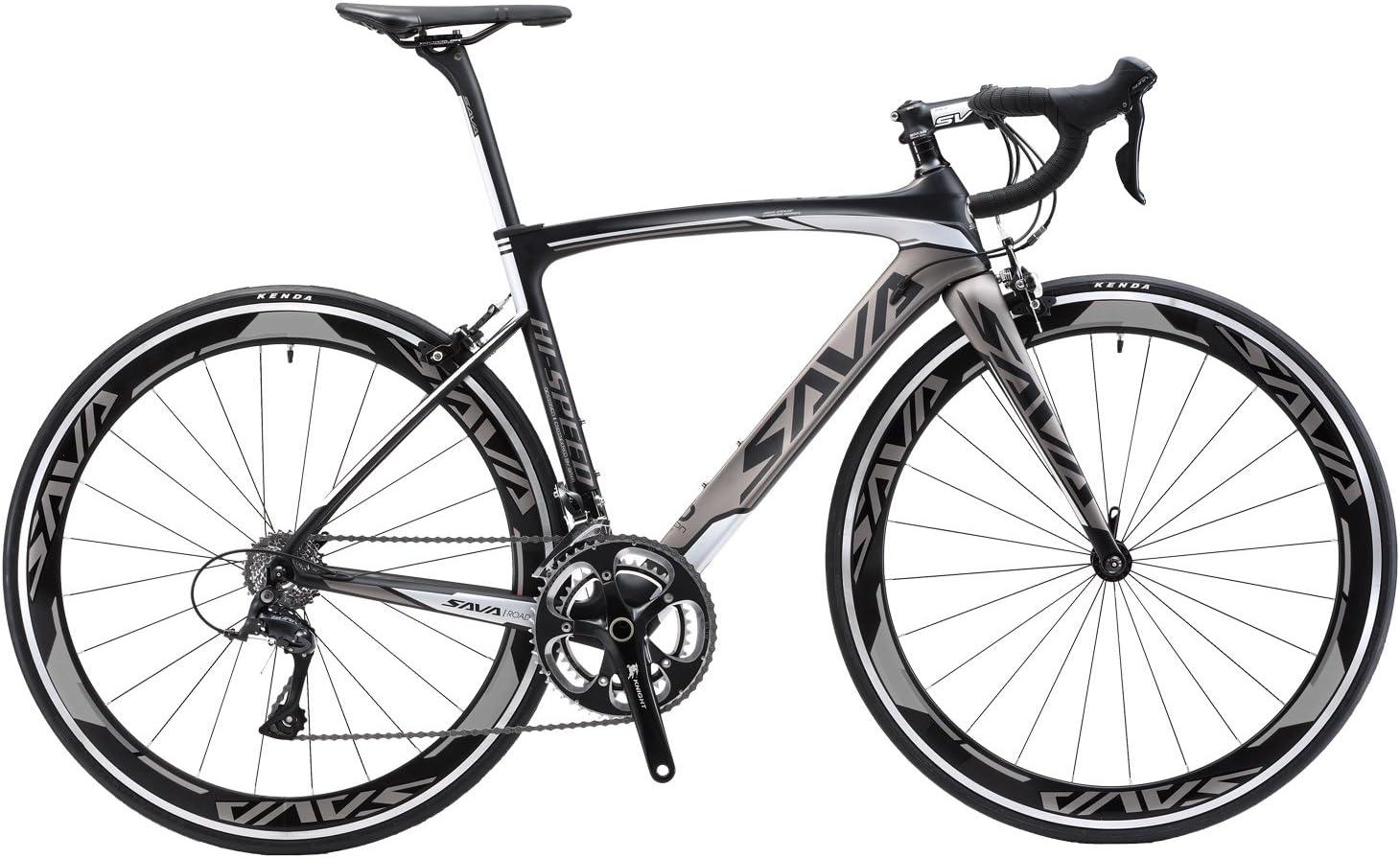 SAVADECK Bicicleta de Carretera de Carbono