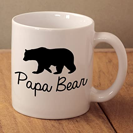Papa Bear Mug Fathers Day Gift Daddy Birthday Present Gifts For Men