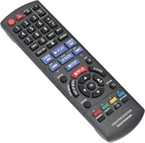 New N2QAYB000966 Replace Remote Control fit for Panasonic Blu-ray Disc Home Theater Sound System SC-BTT466 SA-BTT405 SA-BTT465 SA-BTT466 SC-BTT105 SC-BTT405 SC-BTT433 SC-BTT465 SC-BTT785 SCBTT466