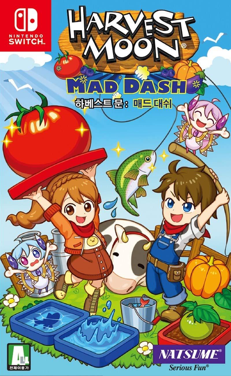 Harvest Moon: Mad Dash Korean Edition - Nintendo Switch