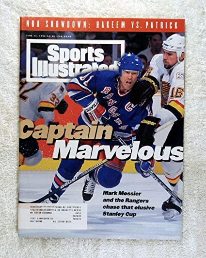 Image Unavailable. Image not available for. Color  Mark Messier   the New  York Rangers chase that elusive Stanley Cup ... fbb2e38f0