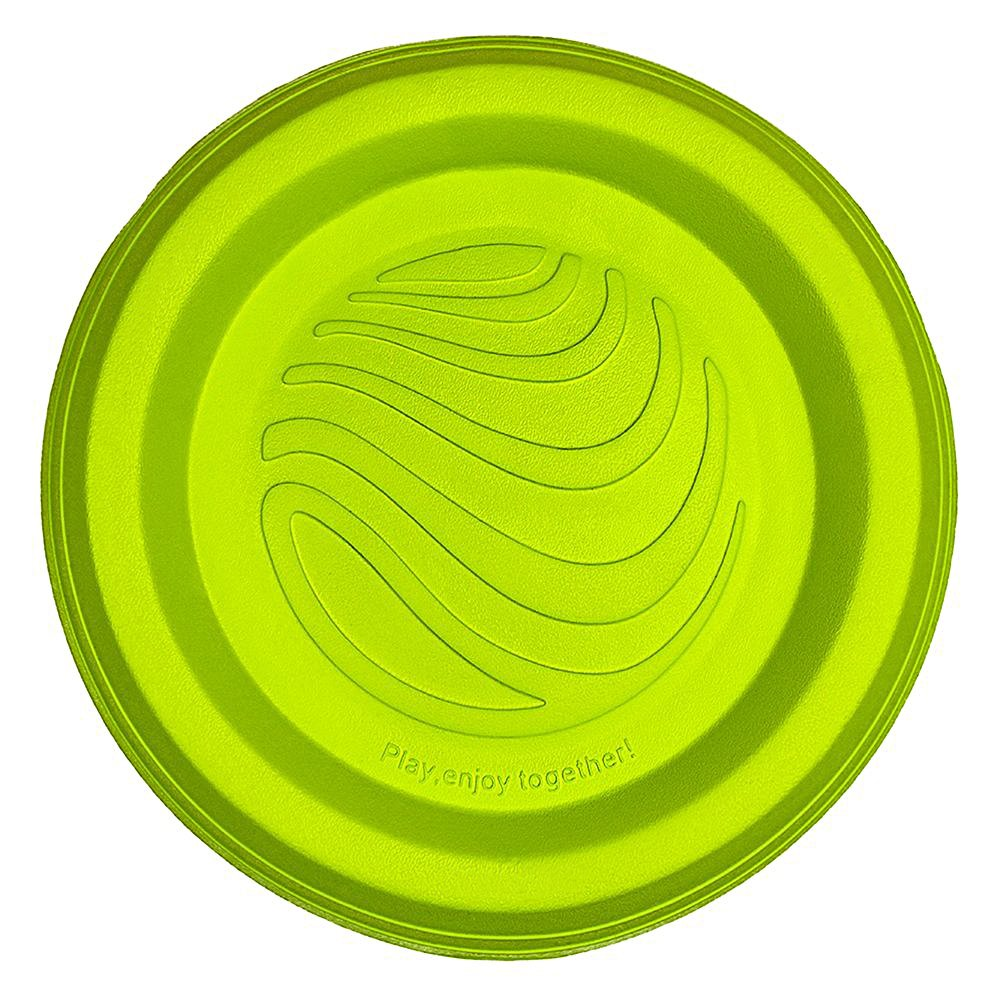 LaRoo Dog Disc Indestructible Dog Flying Disc Dog Toys Flyer Small, Medium Large Dogs