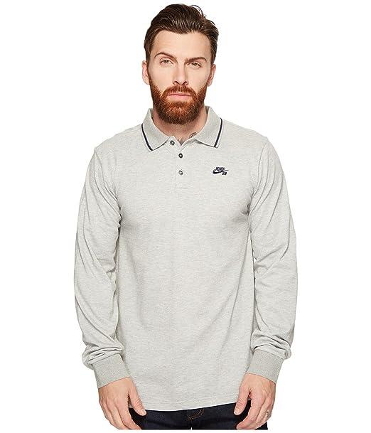 Nike SB - Camiseta de Manga Larga para seco Polo, Dark Grey ...