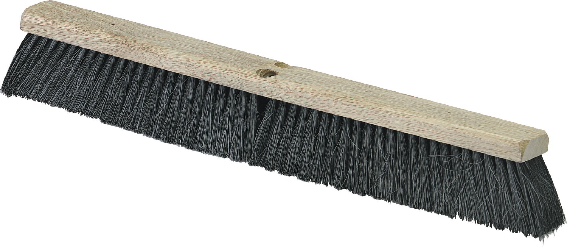 Carlisle 4504303 Flo-Pac Fine/Medium Floor Sweep, 36''-Long Hardwood Block, 3''-Long Black Blended Horsehair/Tampico Bristles (Case of 6) by Carlisle