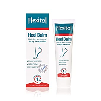 Flexitol Heel Balm for Dry and Cracked Feet, Intense Moisturisation and  Hydration of Dry Feet – 112g