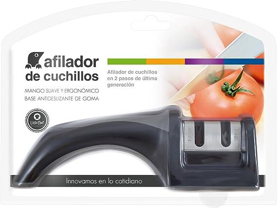 Afilador de Cuchillos en 2 pasos de última generación con hojas de ...