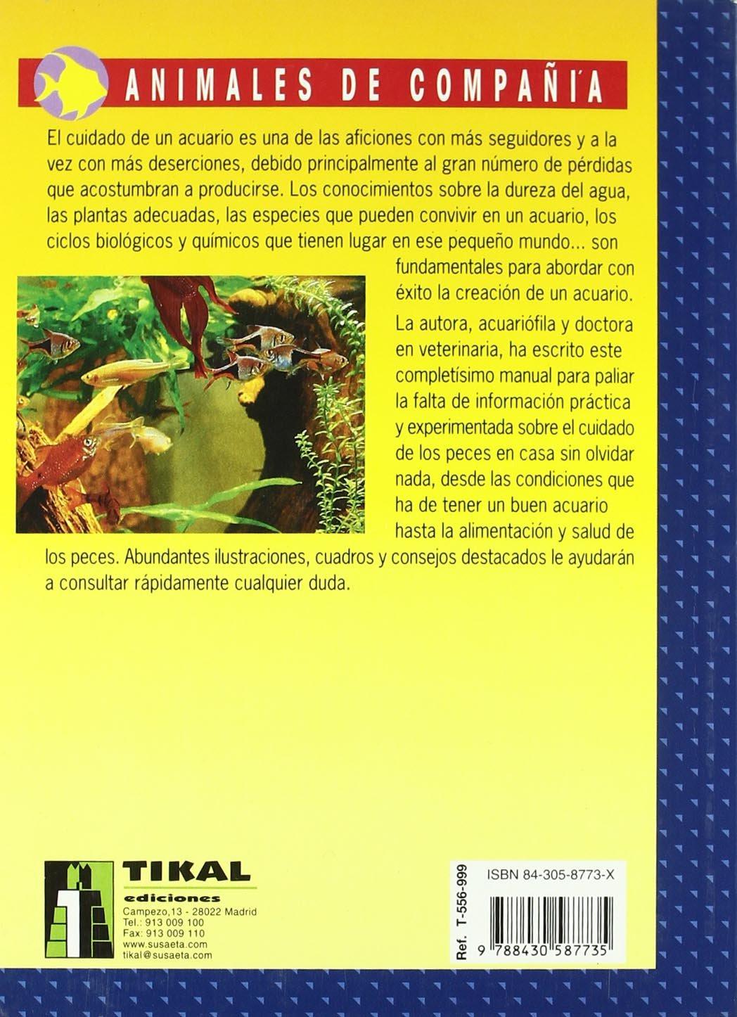El gran libro del acuario de agua dulce: Jutta Etscheidt: 9788430587735: Amazon.com: Books