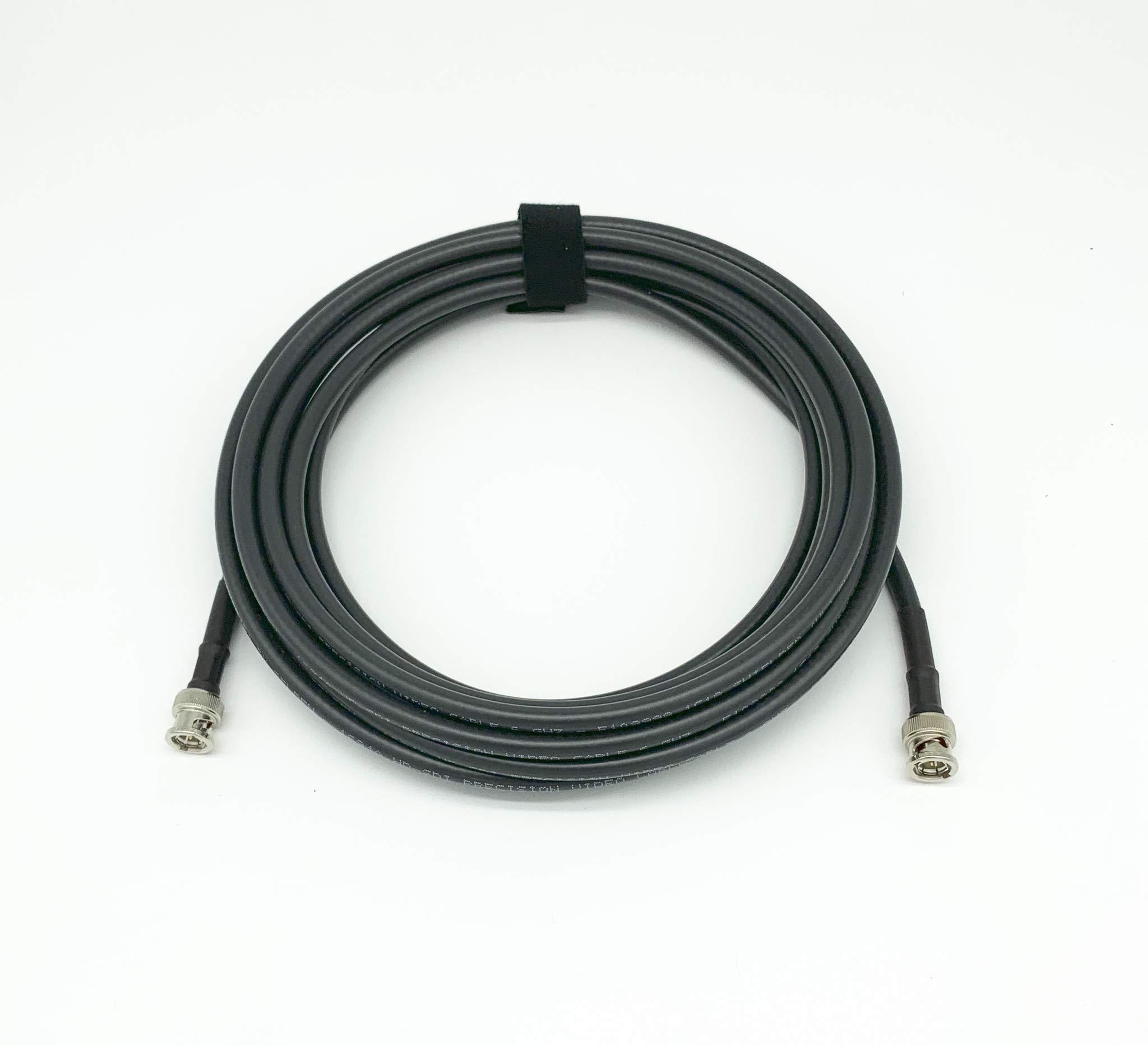 AV-Cables 3G/6G HD SDI BNC Cable- Belden 1694a RG6 - Black (150ft)