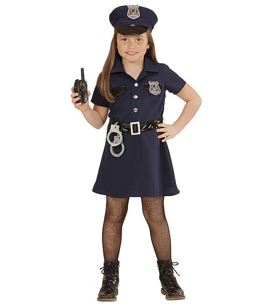 WIDMANN Costume Carnevale Bambina Poliziotta  22875  Amazon.it   Abbigliamento c383fa21183