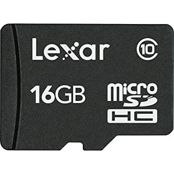 Lexar 16 GB Class 10 microSDHC Memory Card 10 MB s Read Speed Micro SD available at Amazon for Rs.1516