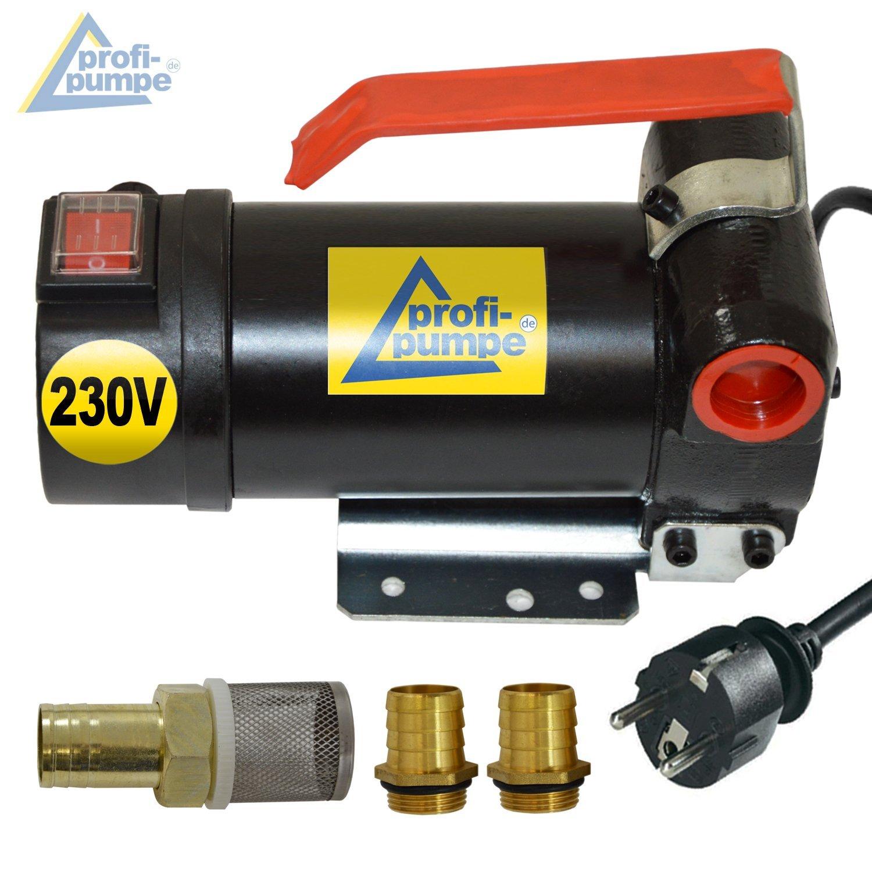 BOMBA TRASVASE / BOMBA COMBUSTIBLE / BOMBA ASPIRACIÓN / BOMBA ACEITE Diesel STAR 160-4 BOMBA ELECTRICA BOMBA GASOIL con arrollamiento de cobre, 2 ...