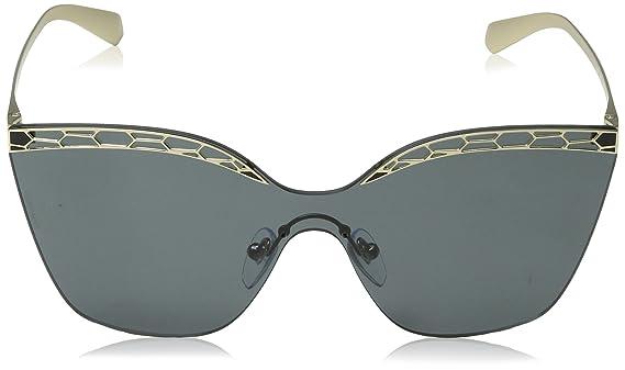 Amazon.com: Bvlgari BV6093 278/87 Pale Gold/Black BV6093 ...
