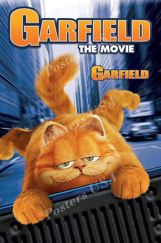 Amazon Com Posters Usa Garfield The Movie Movie Poster Glossy Finish Mov446 24 X 36 61cm X 91 5cm Posters Prints