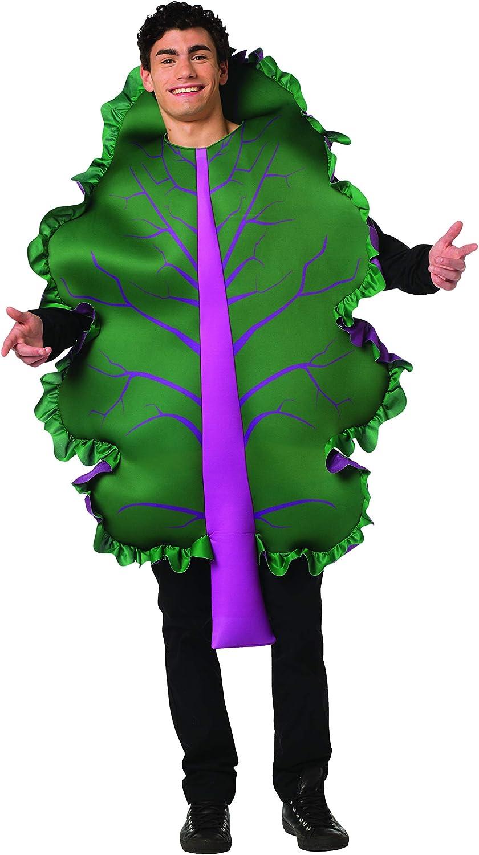 Rasta Imposta Kale Lettuce Costume Mens Womens Fruit Vegetable Funny Food Outfit Green, Purple
