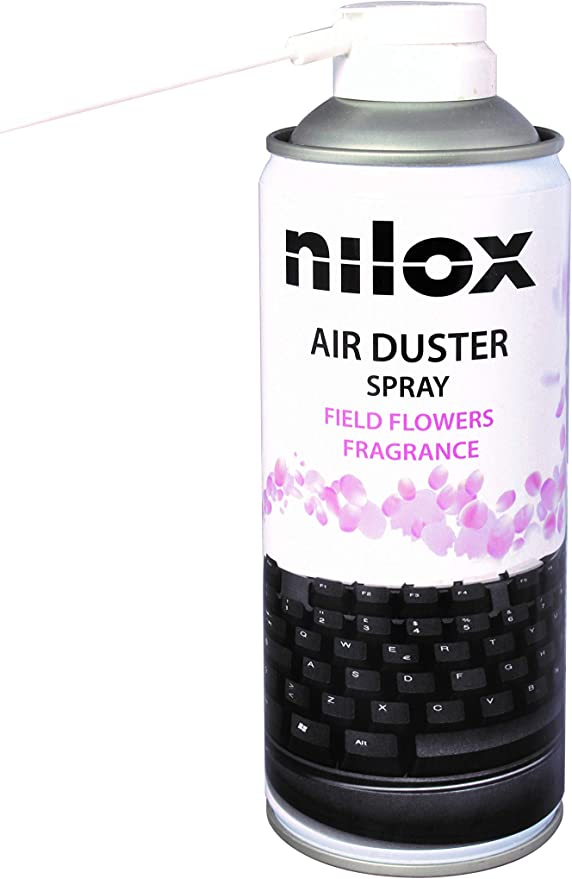 Nilox - Aerosol de aire comprimido, perfume, flores de campo ...