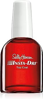 Sally Hansen Insta-Dri Anti-Chip Top Coat 45117 Clear, 0.45 Fl Oz