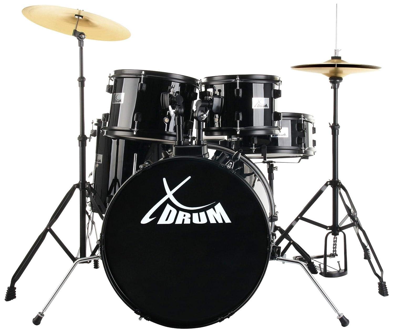 XDrum Rookie 20 bater/ía de estudio set completo negro