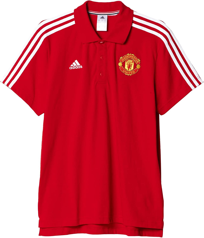 adidas Manchester United FC MUFC 3S Polo - Camiseta Polo Oficial ...