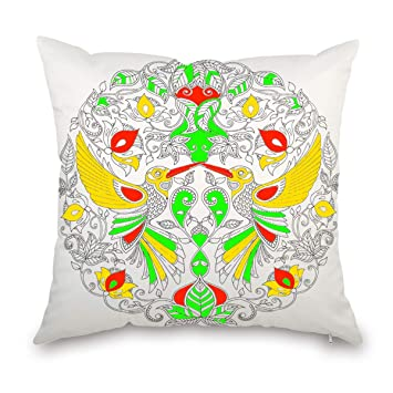 Amazon.com: JES&MEDIS - Funda de almohada cuadrada para ...