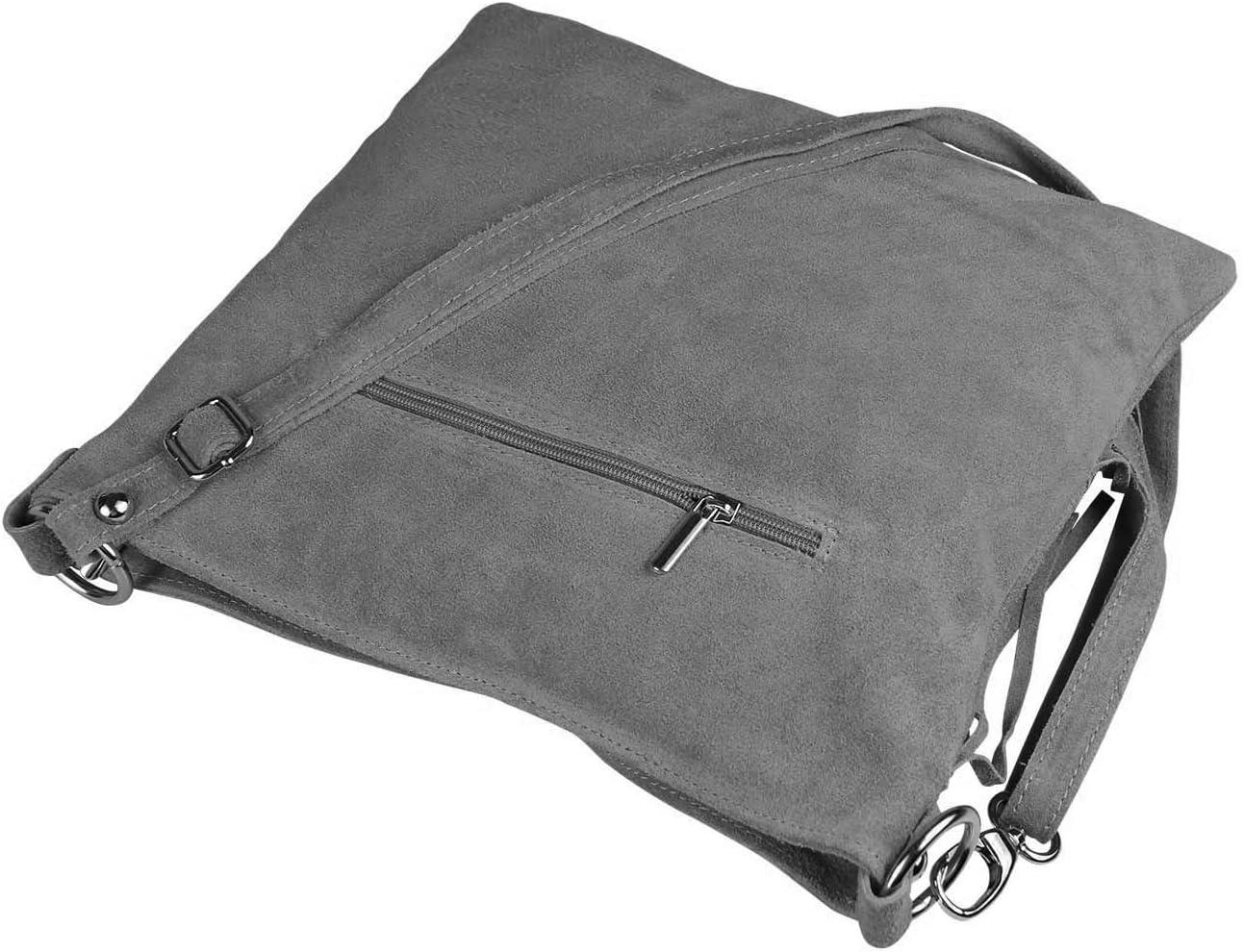 Damen Tasche Italy Style Handtasche Crossbody Umhängetasche Crossover Modetasche