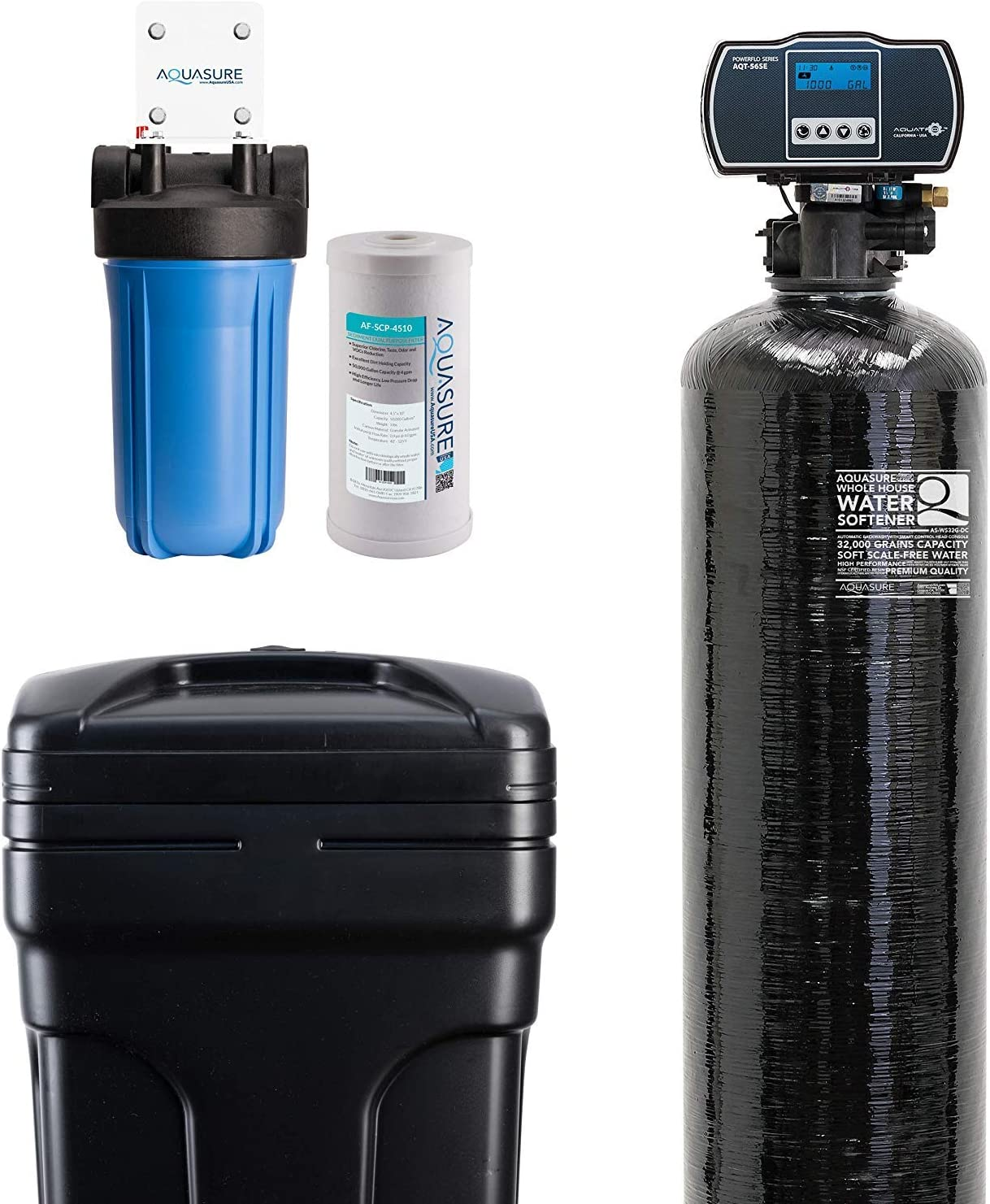1/'/'To 3//4/'/' Pre-filter Central Large Flow Descaling Tap Household Water Purifier