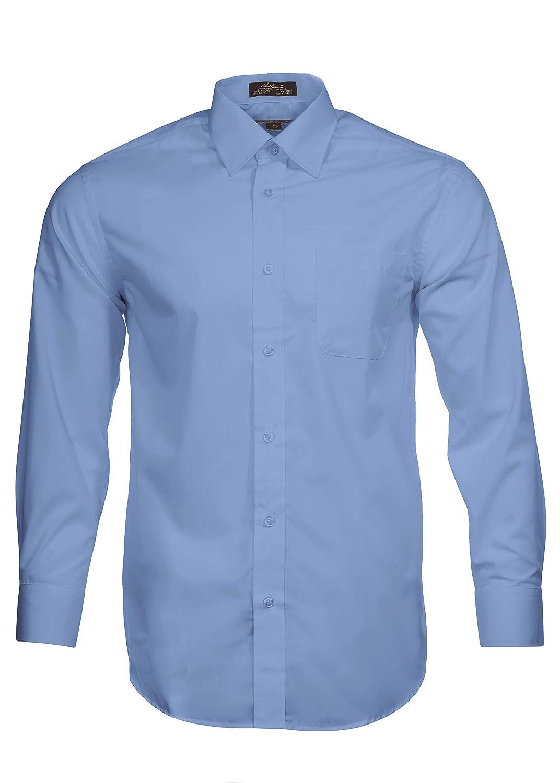 Alberto Danelli Men's Solid Long Sleeve Dress Shirt K87061SY-Parent
