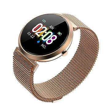 Naack Pulsera Actividad, smartwatch, Reloj Inteligente Impermeable IP68 Pulsómetro Monitor de sueño Deportivo Cronómetro Contador de calorias para ...