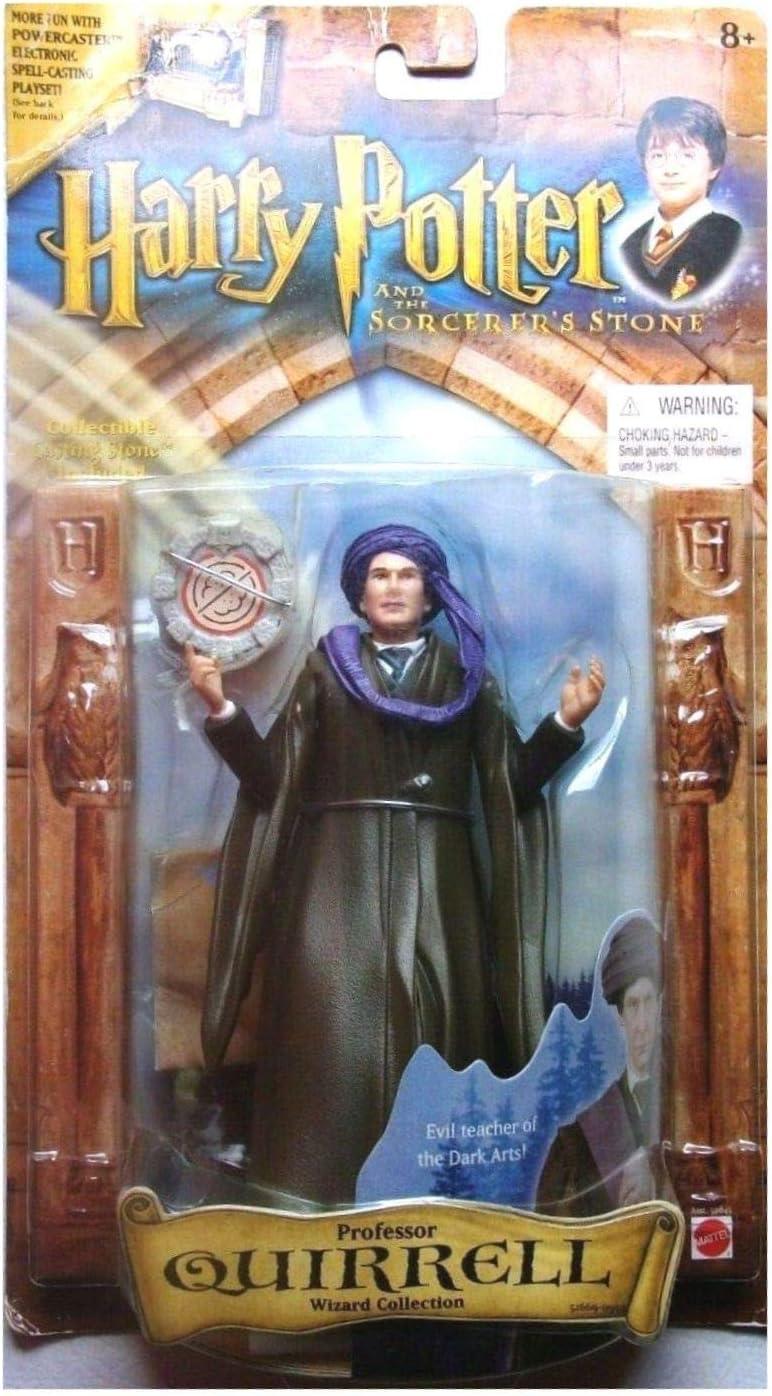 Harry Potter Sorcerer/'s Stone Assistant professeur quirrell Figurine Mattel 2001
