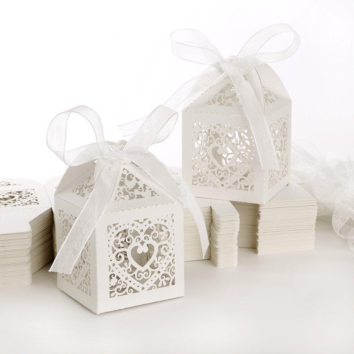 spesso 100pz. Carta di Bomboniera Per Confetti Caramelle Battesimo  XL92