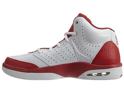 new style 89a1f 2c303 Amazon.com   Nike Men s Jordan Flight Tradition Basketball Shoe (10, White  Black Gym Red)   Basketball