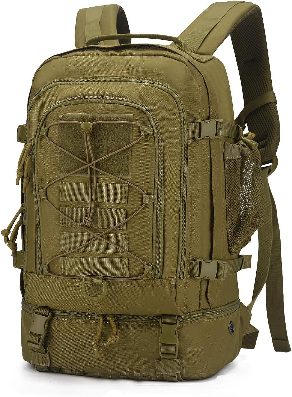 Mardingtop 28L/50L ミリタリー リュック タクティカル バックパック モール 軍用 リュックサック 防水 軽量 バッグ キャンプ 登山 ハイキング