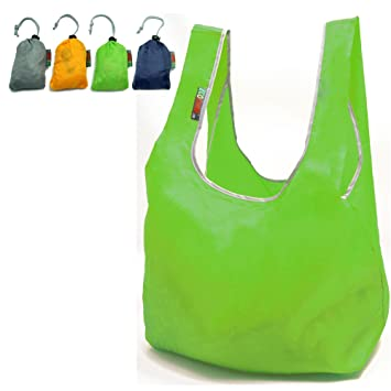 Amazon.com: EcoJeannie 4 Pack Super Strong Ripstop Nylon Foldable ...