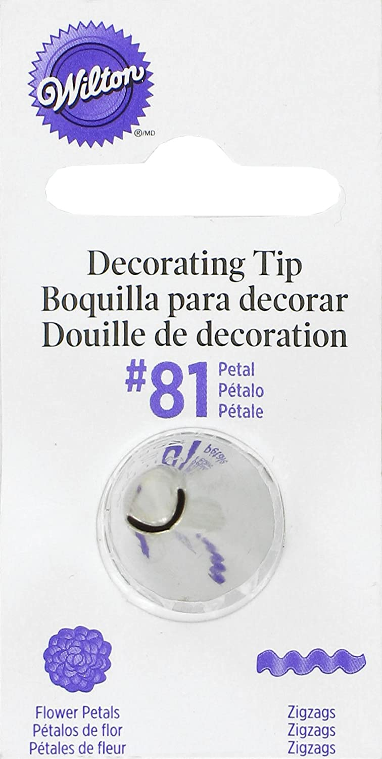 Wilton Decorating Tip, No.81 Curved Ribbon Notions - In Network 418-81