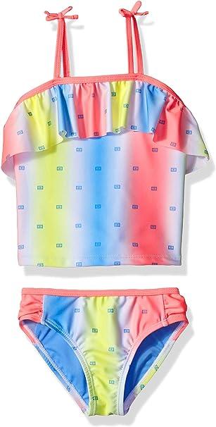 Amazon.com: Tommy Hilfiger - Bañador de dos piezas para niña ...