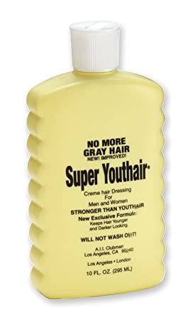 Youthair Super Creme Hair Dressing for Men and Women, 10-Ounce Pack of 2